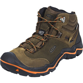 Keen Wanderer Mid WP Shoes Herren cascade brown/bossa nova